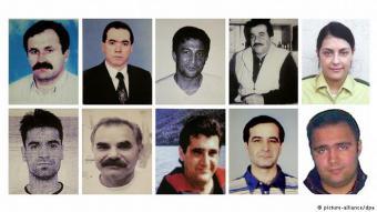 Zehn Opfer, zehn Tragödien: Neun der Opfer hatten ausländische Wurzeln, sie lebten jedoch alle zur Zeit ihres Todes in Deutschland. Außerdem wurde eine deutsche Polizistin von der Terrorbande getötet. Alle Opfer wurden kaltblütig erschossen.