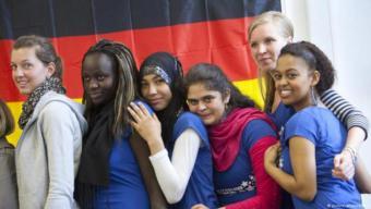 Migration in Deutschland. Symbolbild