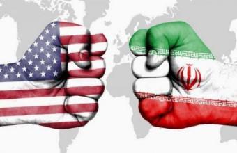 Symbolbild Konfrontationzwischen den USA und Iran; Quelle: baztab.ir/Iranjournal
