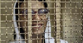 Menschenrechtsanwältin Mahienour el-Masry; Foto: AFP/Getty Images