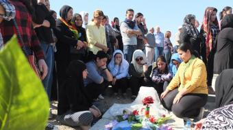 Alleingelassen: Nach dem Ausbruch des syrischen Bürgerkrieges im Jahr 2011 entschieden sich die Kurden in Syrien für keine der beiden Seiten - nicht für die Regierung, nicht für die Opposition. Durch den Rückzug der US-Truppen bleiben sie allein zurück, ohne jede Unterstützung.