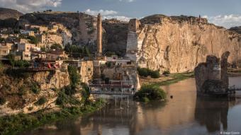 Blick auf die historische Altstadt Hasankeyfs; Foto: DW/D.Cupulo