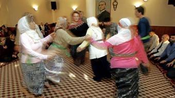 Cem-Zeremonie im Karacaahmet-Cem-Haus in Istanbul; Foto: AP