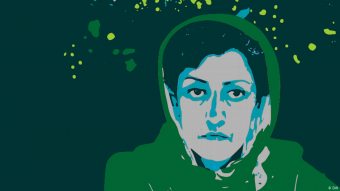 DW-Kampagne #FreedomofSpeech Narges Mohammadi; Quelle: DW