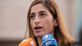 Die deutsche Journalistin Mesale Tolu; Foto: Getty Images/AFP