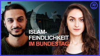 Wie können Abgeordnete im #Bundestag in Debatten über den Islam diskutieren, ohne zu diskriminieren? Screenshot von  represent (Koproduktion von ZEIT ONLINE & funk).