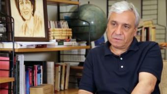 Der syrische Dissident und politische Analyst Yassin al-Haj Saleh. Foto: Maizar Matar