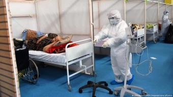 Krankenhausbetten werden derzeit knapp in Tunesien. (Jdidi Wassim/SOPA Images/picture alliance)