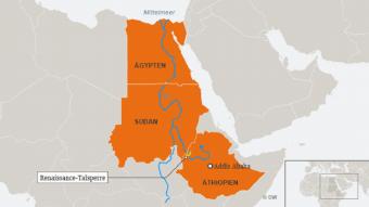 Wieviel Wasser wird in Ägypten noch ankommen, fragt sich Kairo?. Foto: DW