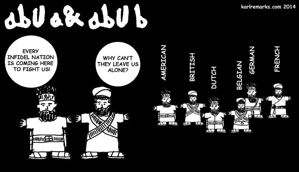 """Mit Humor gegen den """"Islamischen Staat"""": Der furchtbar witzige IS -  Qantara.de"""