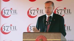 Zypern Staatsbesuch von Präsident Reccp Tayyip Erdogan; Foto: Mustafa Oztartan/Presidential Press Office/Reuters